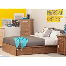 Thompson 6 Drawer Storage Platform Bed
