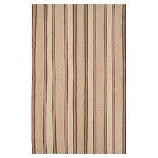 Farmhouse Tan Stripes Rug