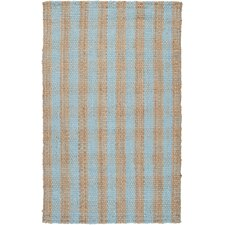 Country Jutes Pale Blue Rug