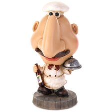 Italian Chef Eyeglass Holder Statue