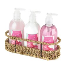 Vanilla Sweet Pea Bath Set