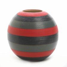Tribute Striped Decorative Vase