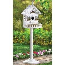 Cape Cod Pedestal Birdhouse