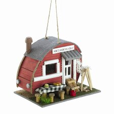 Old Fashioned Trailer Birdhouse