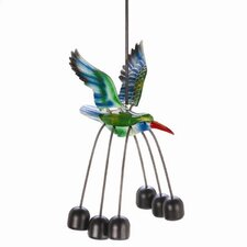 Bouncy Bell Hummingbird Wind Chime