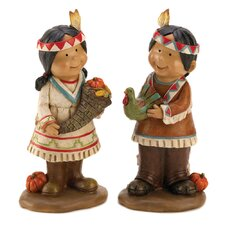 Giving Thanks Figurines