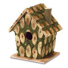 Mossy Wood Birdhouse