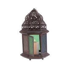 <strong>Zingz & Thingz</strong> Exotic Multicolored Tabletop Lantern