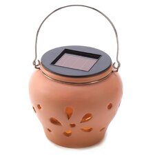 <strong>Zingz & Thingz</strong> Sunglow Adobe Solar Light