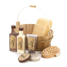 <strong>Zingz & Thingz</strong> Bamboo Sugarcane Spa Basket