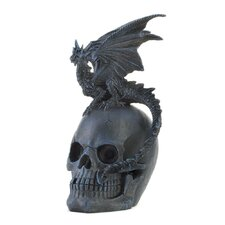 <strong>Zingz & Thingz</strong> Dragon and Skull Sculpture