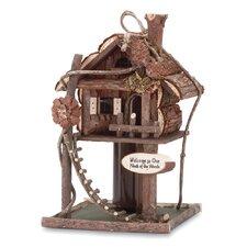 Neck Free Standing Birdhouse