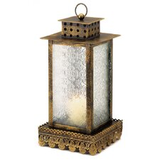 Far East Metal and Glass Lantern
