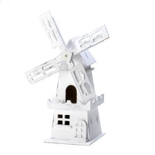 Dutch Windmill Free Standing Birdhouse