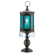 Goblet Iron and Glass Lantern