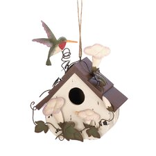 Flowering Hanging Birdhouse