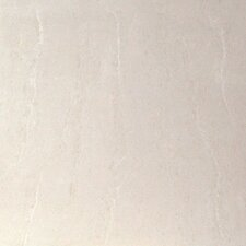 "Heritage Botticino 24"" x 24"" Porcelain Polished Tile in Cream"