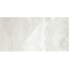 "Classic High Definition 24"" x 12"" Porcelain Matte Tile in Ivory"