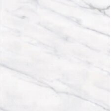 "Calacatta High Definition 12"" x 12"" Porcelain Matte Tile in White"