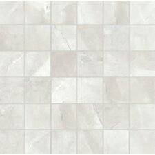 "Classic High Definition 12"" x 12"" Porcelain Matte Tile in Ivory"