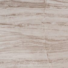 "Majestic Tigerwood 24"" x 12"" Porcelain Glazed Tile in Taupe and Gray"