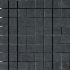 SGT Mosaics Porcelain Matte Tile in Carbon
