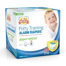 <strong>Potty Patrol</strong> Alarm Diapers Boys Refill Kit