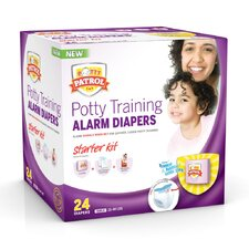 <strong>Potty Patrol</strong> Alarm Diapers Girls Starter Kit