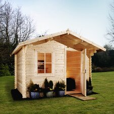 Escape Log Cabin with Opening Windows