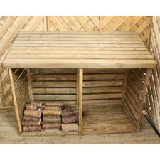 Double Log Store Box
