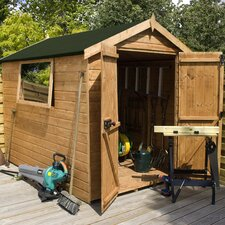 Shiplap Apex Shed with Easy Fit Roof System