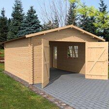 Garage Log Cabin