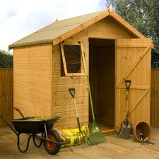 Shiplap T&G Reverse Apex Storage Shed with Opening Windows