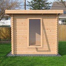 Zen Log Cabin with Double Door