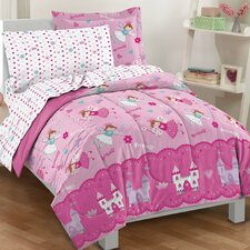 Magical Princess 5 Piece Bed in a Bag Set
