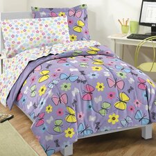 Sweet Butterfly Bed Set