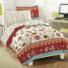 Circus Bed in a Bag Set