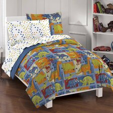 Dino Blocks Bed Set