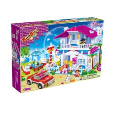 Loving World Restaurant Block Set