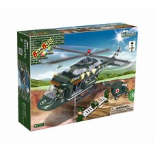 World Defence Force Medical Helicopter Block Set