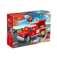 Fire Brigade 242 Piece Fire Jeep Block Set