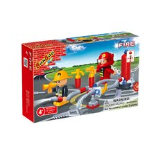 Fire Brigade 58 Piece Fireman Block Set