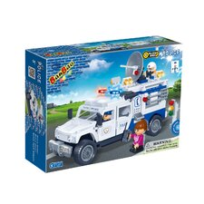 290 Piece Police Car Block Set