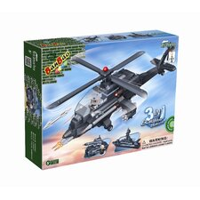 295 Piece 3 in 1 Helicopter Block Set