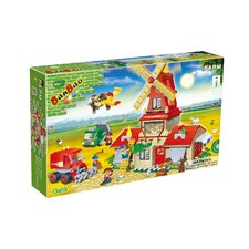 860 Piece Wheat Farm Block Set