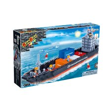 Docks 716 Piece Loading Ship Block Set
