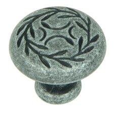 "Leaf 1.25"" Round Knob"