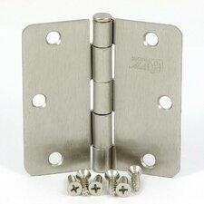 3.5'' H x 3.5'' W Radius Corner Door Hinge (Set of 2)