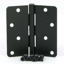 <strong>Stone Mill Hardware</strong> Radius Corner Door Hinge (Set of 2)