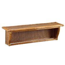 Natural Rattan Wall Shelf
